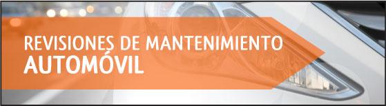 Revisiones de mantenimiento básico del automóvil