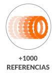 Más de 1000 referencias