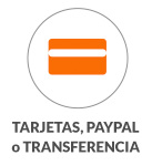 Tarjetas, Paypal, Transferencias